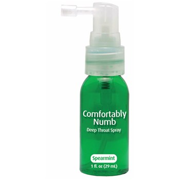 Comfortably Numb Deep Throat Spray at BetterSex.com