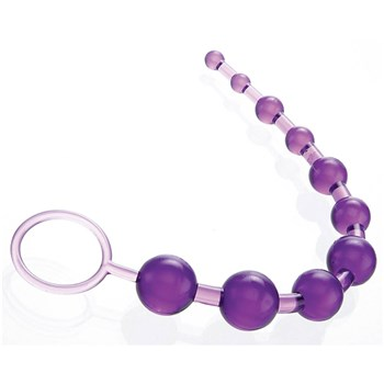 A&E X-10 Anal Beads at BetterSex.com