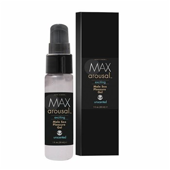 Max 4 Men's Arousal Exciting Male Sex Pleasure Gel at BetterSex.com