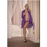Model wearing Unwrap Me Robe