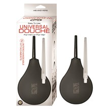 UNIVERSAL DOUCHE black with packaging