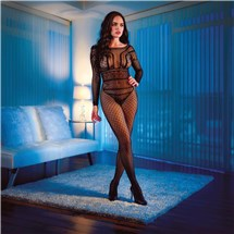 Scandal full length body suit package on mannequin
